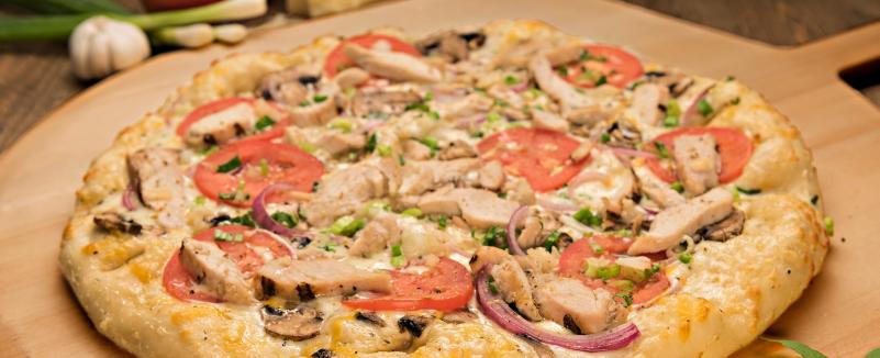Pizza Garlic Chicken